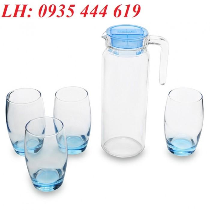 Ly thủy tinh, bộ bình ly thủy tinh các loại in logo tại Huế3