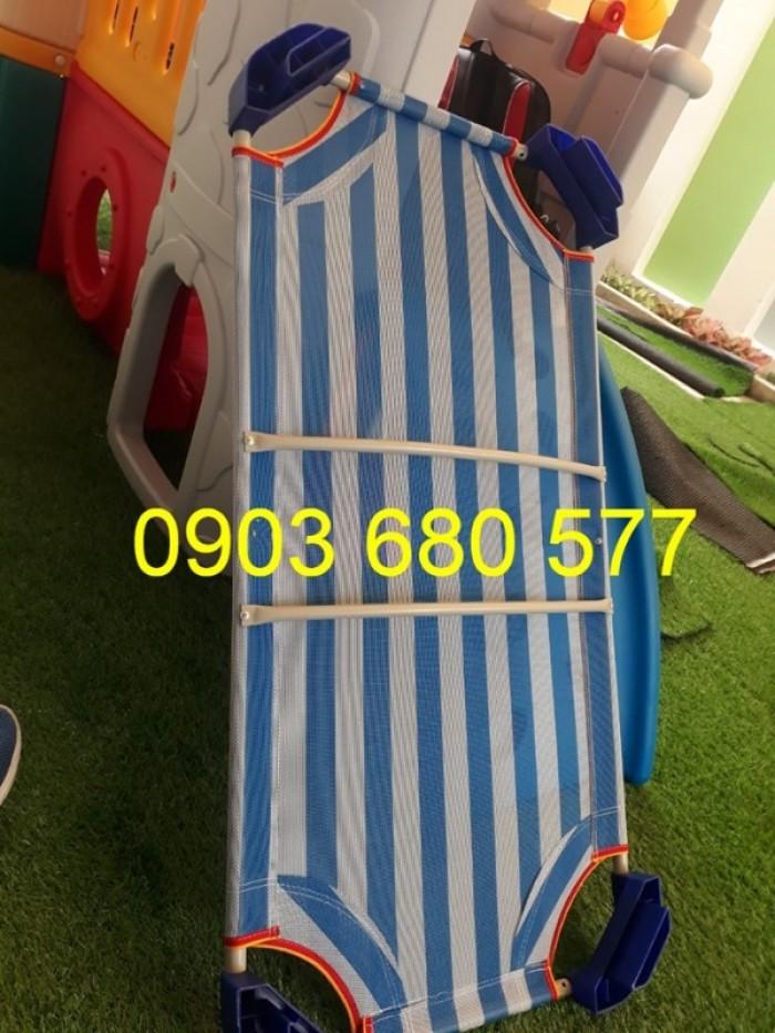 Chuyên cung cấp giường lưới mầm non giá rẻ, uy tín, chất lượng cao dành cho trẻ nhỏ4
