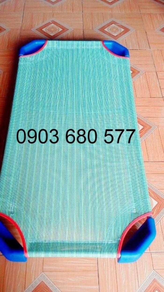 Chuyên cung cấp giường lưới mầm non giá rẻ, uy tín, chất lượng cao dành cho trẻ nhỏ5