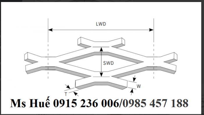 Lưới hình thoi 25x50 tôn dầy 2 li khổ 1mx10m /cuộn