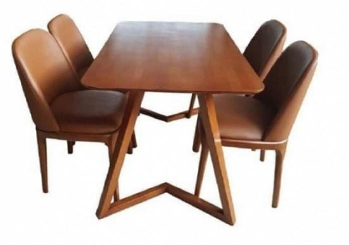Thanh lý ghế gỗ nệm da cao cấp giá rẻ7