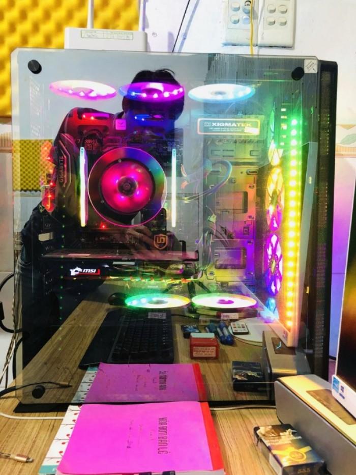 Cần bán thùng CPU I7 7800X RAM16, VGA 6GB, Máy mạnh dựng Phim 4K0