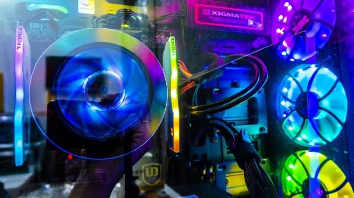 Cần bán thùng CPU I7 7800X RAM16, VGA 6GB, Máy mạnh dựng Phim 4K4