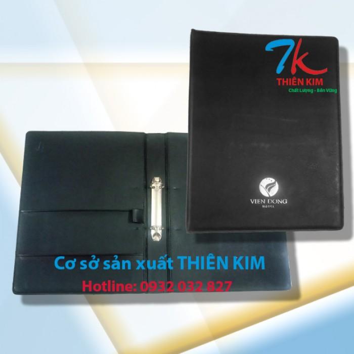Nhận cung cấp bìa đựng hồ sơ da, bìa menu da, chuyên sản xuất bìa đựng tài liệu bằng da,1