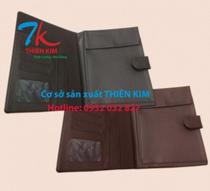 Nhận cung cấp bìa đựng hồ sơ da, bìa menu da, chuyên sản xuất bìa đựng tài liệu bằng da,3