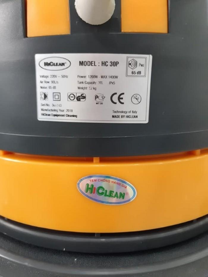 Máy hút bụi nước HiClean HC30 thùng nhựa giá chỉ 1650k1