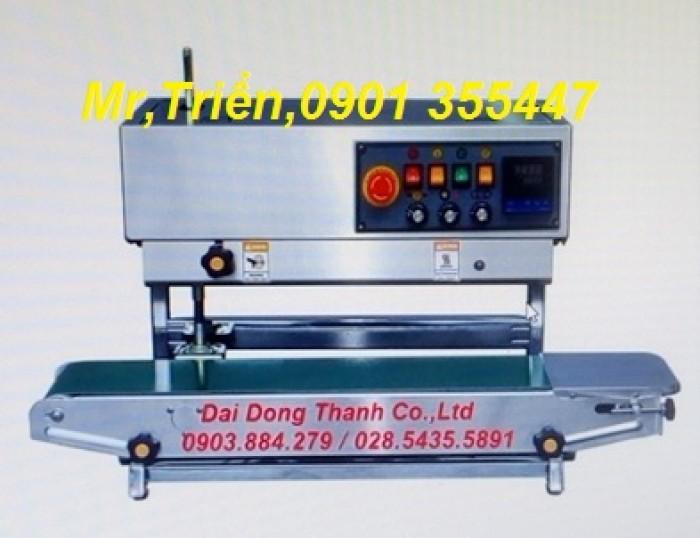 Máy hàn miệng bao in date liên tục FRL-1000WL giá rẻ Long An0