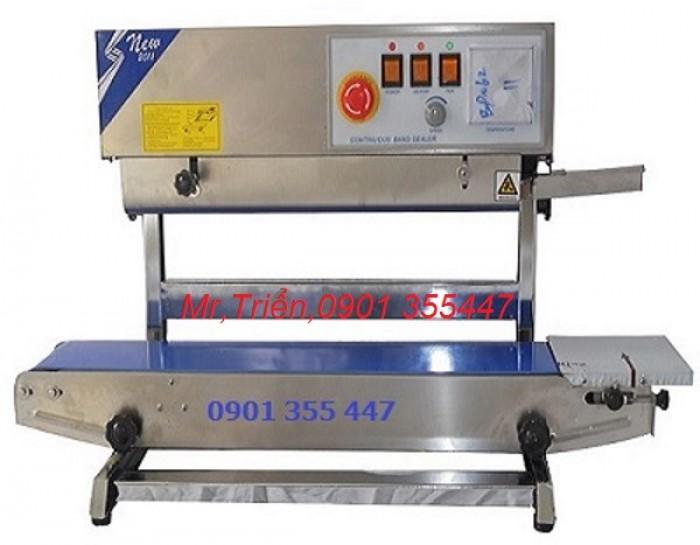 Máy hàn miệng bao in date liên tục FRL-1000WL giá rẻ Long An1