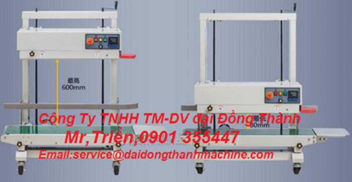 Máy hàn miệng bao in date liên tục FRL-1000WL giá rẻ Long An9