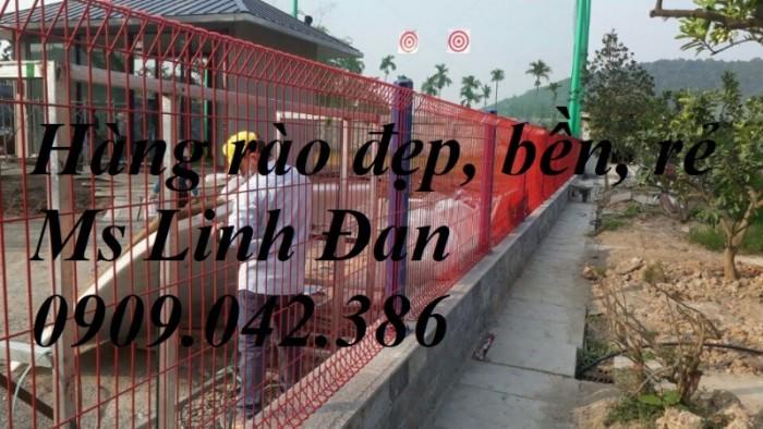 lưới thép hàng rào gập tam giác sơn tĩnh điện1