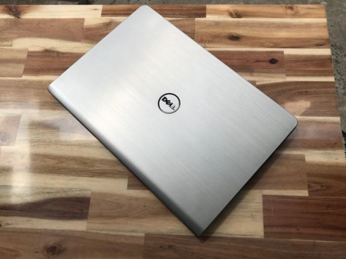 Laptop Dell Inspiron 5547 , i5 4210U 8G SSD256 Vga rời 2G Đèn Phím Vỏ Nhôm Đẹp Zin Giá rẻ1