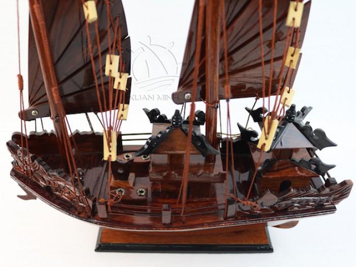 Mô hình Thuyền buồm Hạ Long Rồng - Gỗ Cẩm Lai đẹp - Size 30-40-60cm13