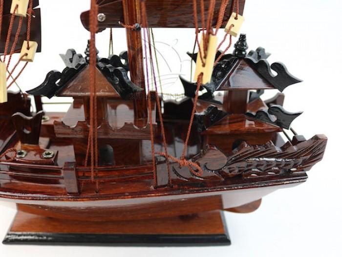 Mô hình Thuyền buồm Hạ Long Rồng - Gỗ Cẩm Lai đẹp - Size 30-40-60cm11
