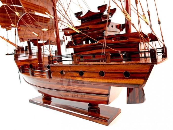 Mô hình Thuyền Buồm Tàu buôn Thái Lan - Gỗ Tràm - Size 40-60-80-100cm8