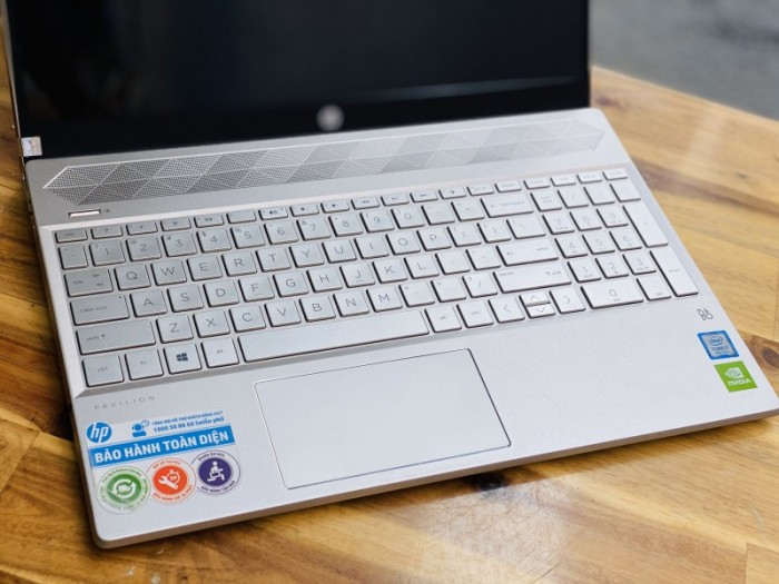 Laptop Hp Pavilion 15 CS1045tx, i5 8265U SSD128+1000G Vga rời MX130 Full HD Giá rẻ3