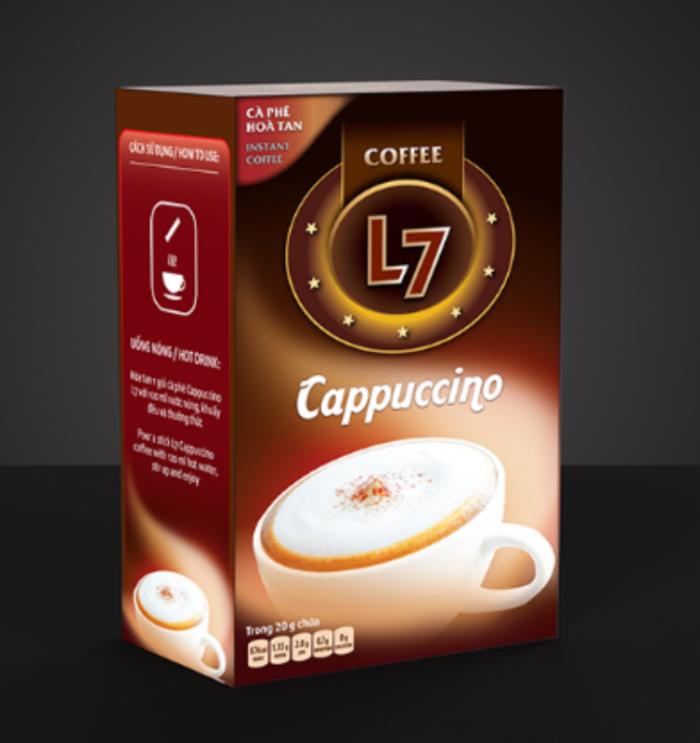 Giỏ quà Tết cùng gói cà phê hòa tan chất lượng - MuaBanNhanh