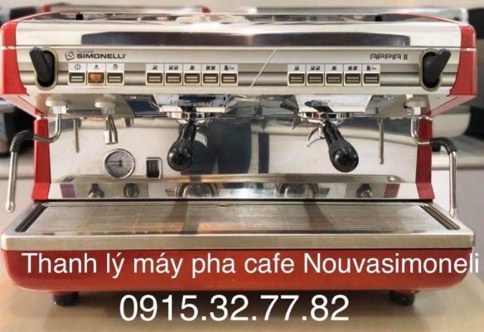 Cần thanh lý gấp bộ máy pha cà phê chuyên nghiệp Nouvasimonelli Appia2 4