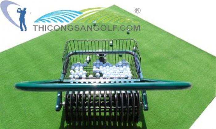 Xe Nhặt Bóng Golf Đẩy Tay0