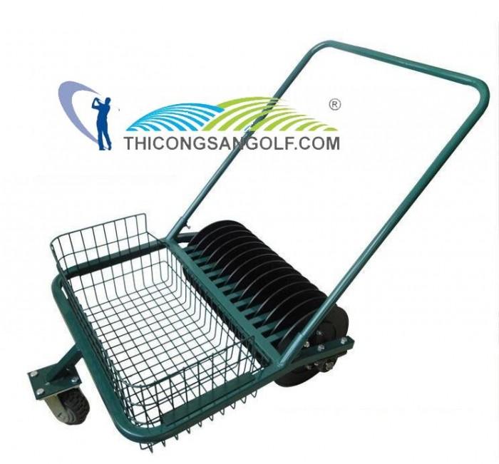 Xe Nhặt Bóng Golf Đẩy Tay4