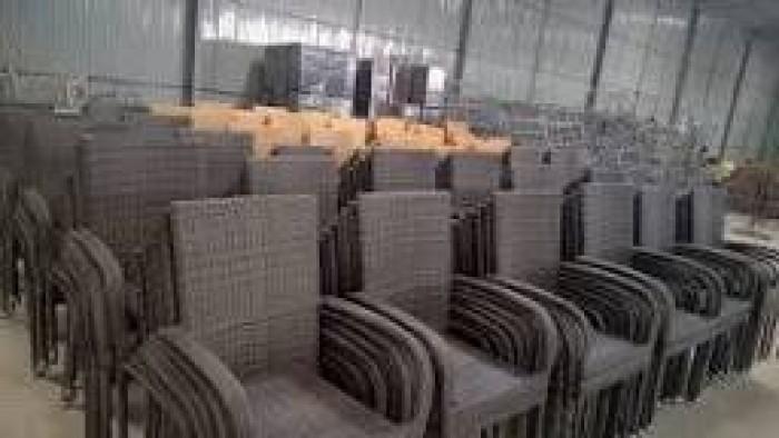 Cần thanh lý ghế nhựa giã mây giá rẽ3