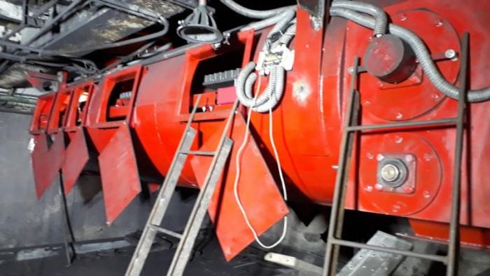 Lắp đặt máy cấp than, cân băng tải định lượng than nhà máy nhiệt điện.1