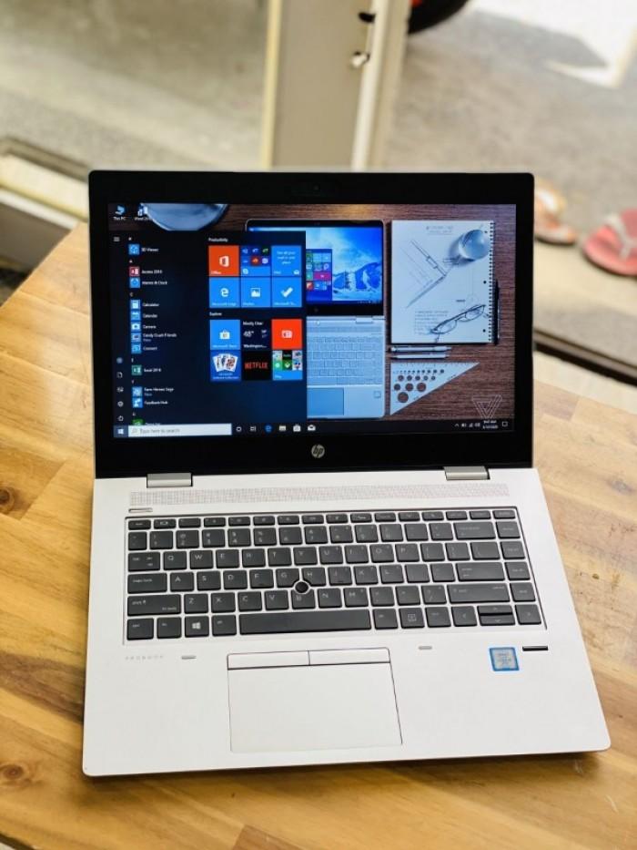 Laptop Hp Probook 640 G4, I5 7300U 8G SSD256 Finger Đèn Phím Vỏ Nhôm Đẹp Keng4