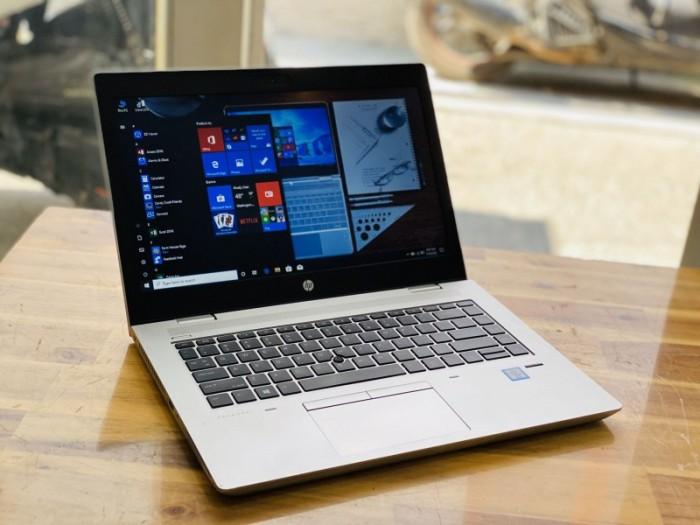 Laptop Hp Probook 640 G4, I5 7300U 8G SSD256 Finger Đèn Phím Vỏ Nhôm Đẹp Keng0