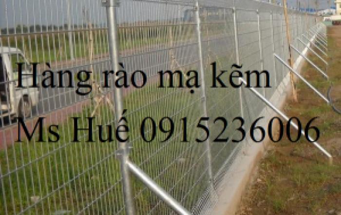 Hàng rào lưới thép bẻ gập hai đầu, hàng rào mạ kẽm, hàng rào sơn tỉnh điện, hàng rào lưới thép hàn0
