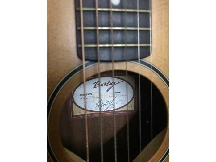 Guitar Taylor Baby BT1e (xách tay)4