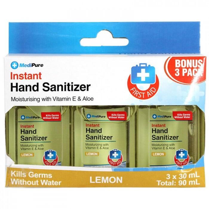 Gel rửa tay khô Instant Hand Sanitizer Medipure  Lemon -SH630