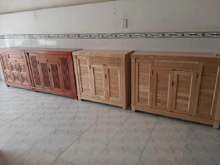Tủ giày gỗ sồi1