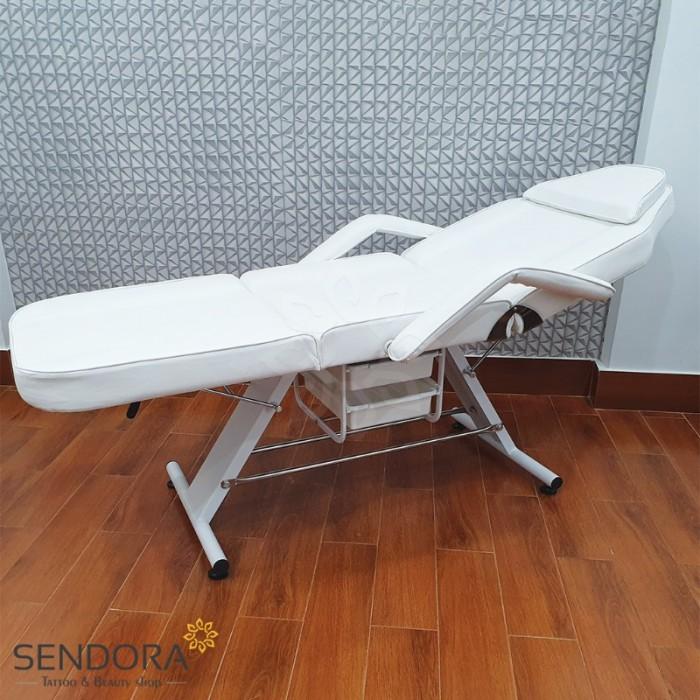 Giường phun xăm, ghế tiêm Filler YH-82006 – Màu trắng0