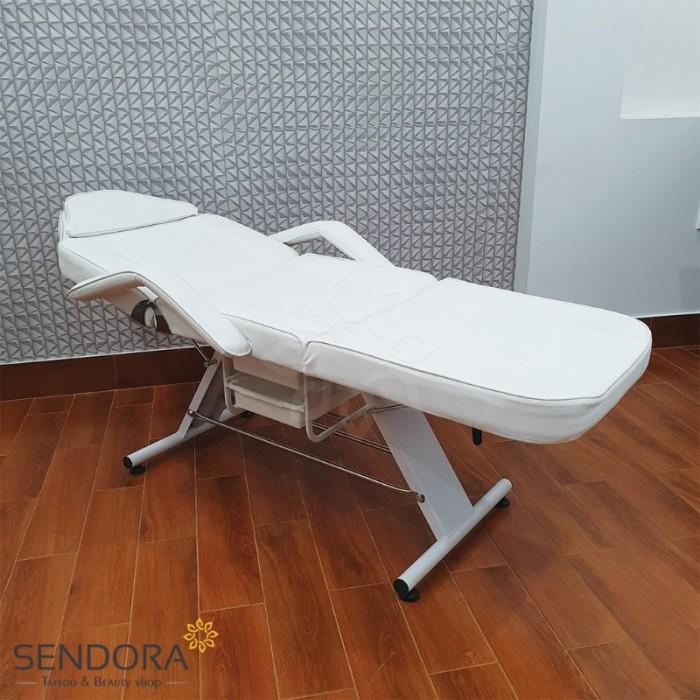 Giường phun xăm, ghế tiêm Filler YH-82006 – Màu trắng1