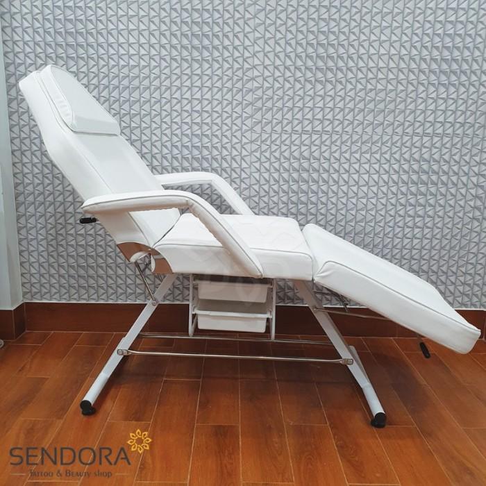Giường phun xăm, ghế tiêm Filler YH-82006 – Màu trắng3