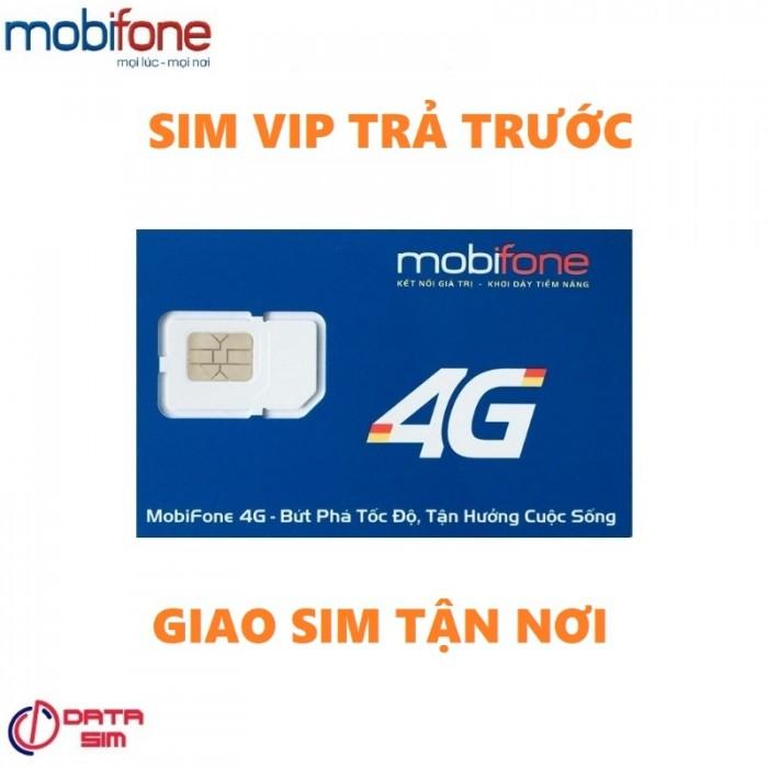 Sim tam hoa 888 trả trước mobifone đồng giá 5 triệu 1 sim2