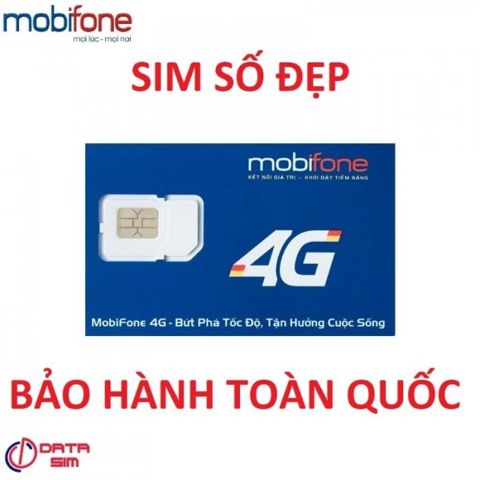 Sim tam hoa 888 trả trước mobifone đồng giá 5 triệu 1 sim1