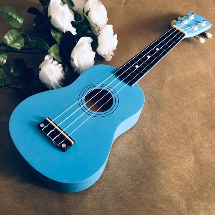 Đàn Ukulele gỗ xanh ngọc   Size soprano 21' chính hãng.1