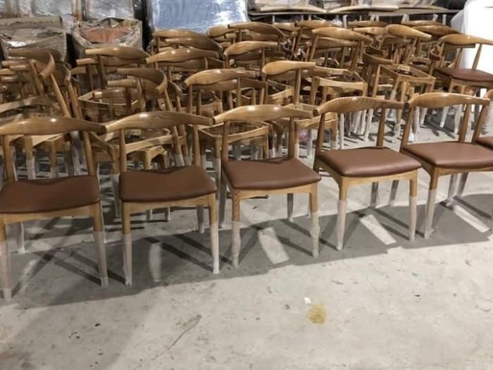 Thanh lý ghế gỗ sừng trâu bao đẹp bền..0
