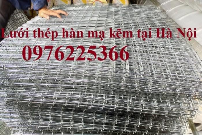 Lưới hàn mạ kẽm, lưới thép hàn mạ kẽm giá rẻ tại Hà Nội0