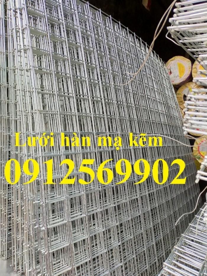 Lưới hàn mạ kẽm, lưới thép hàn mạ kẽm giá rẻ tại Hà Nội2