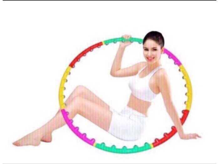Vòng lắc giảm eo Massage Hoop1