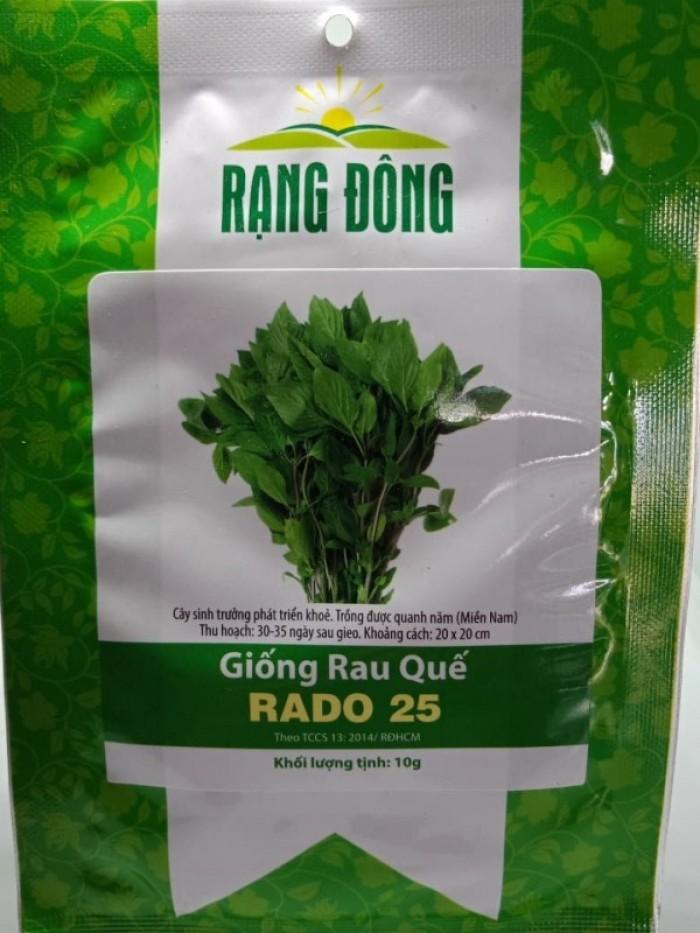 Hạt giống rau quế xanh Rạng Đông1