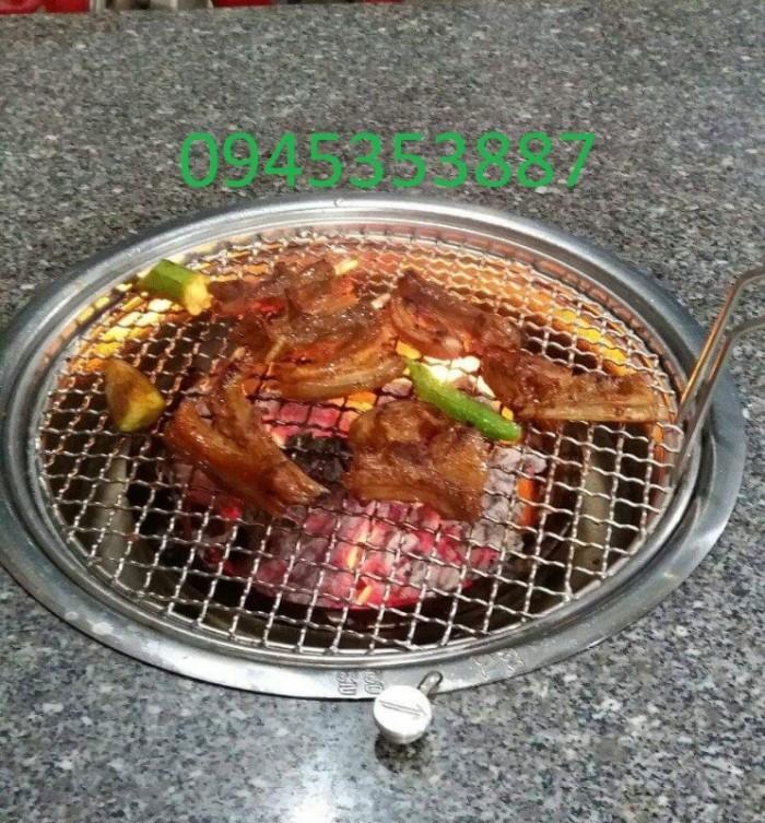 Bếp nướng than hoa âm bàn không khói Hàn Quốc Hút Dương ,bếp nướng than hoa giá rẻ1