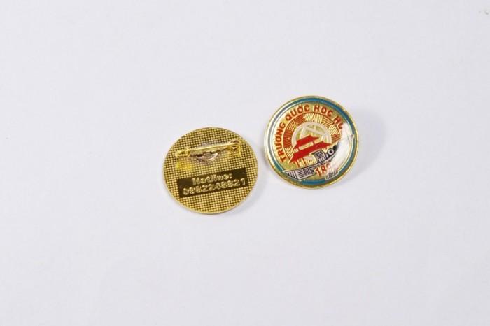 Chuyên sản xuất huy hiệu cài áo in ấn logo thương hiệu16