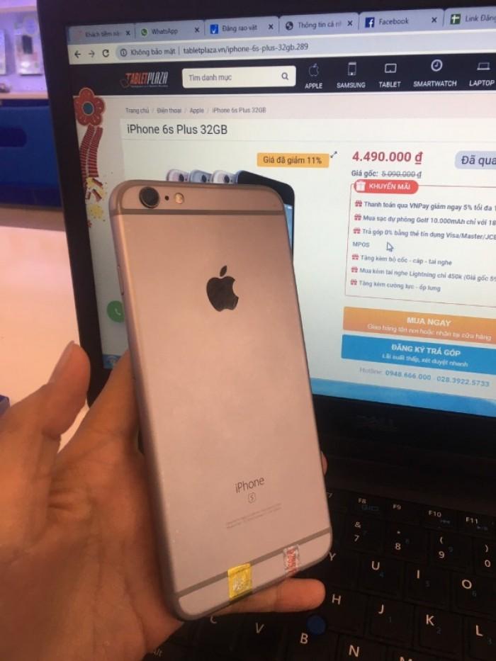 IPhone 6s+ 32G- 4,490k-fullbox-BH 12 tháng - TabletPaza1