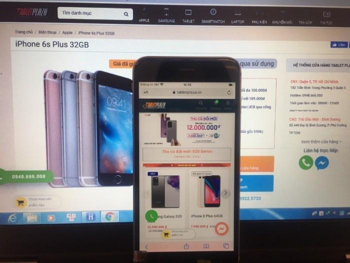 IPhone 6s+ 32G- 4,490k-fullbox-BH 12 tháng - TabletPaza0