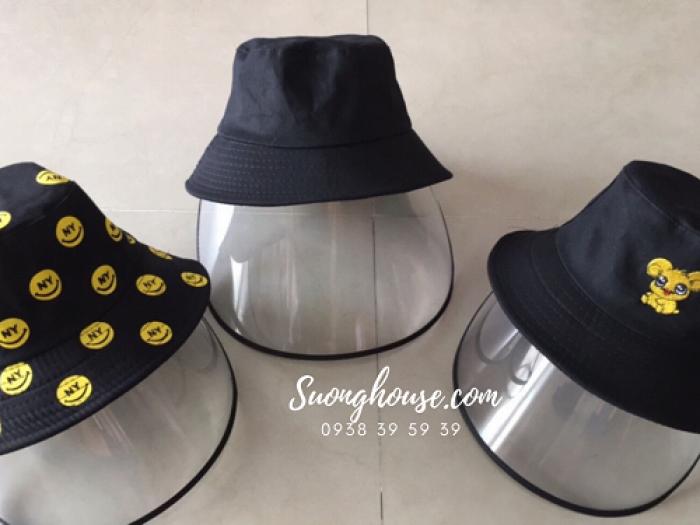 Nón chống dịch Mũ chống dịch  bảo vệ sức khỏe chống virus CoVid 19 đồng giá 5