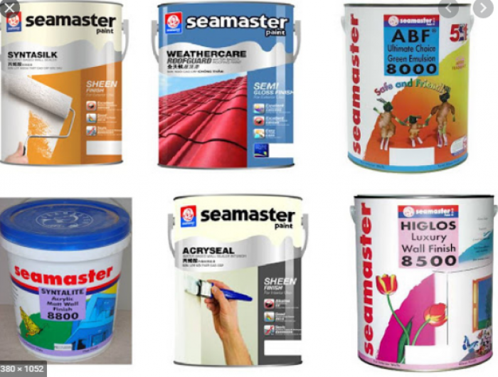 Cung cấp sơn chịu nhiệt Seamaster 600 độ giá tốt cho công trình giá tốt0
