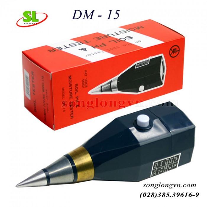 Máy đo pH và độ ẩm đất DM - 15 chính hãng Takemura - Nhật0