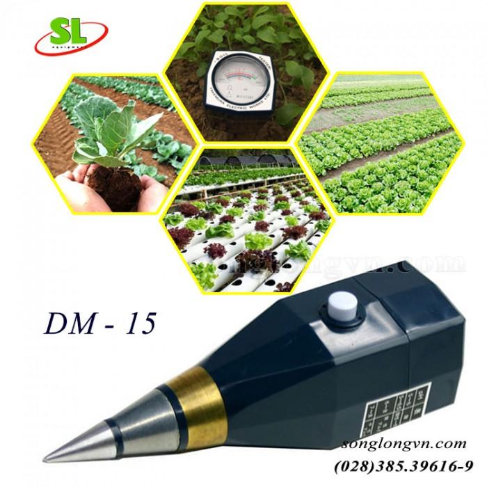 Máy đo pH và độ ẩm đất DM - 15 chính hãng Takemura - Nhật3